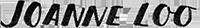 Joanne Handwritten Logo
